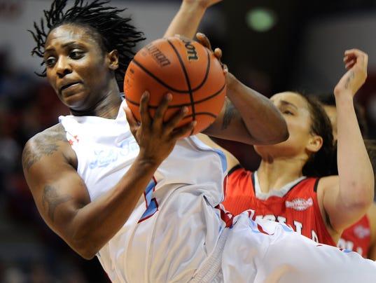 Lady Techster Basketball vs Nicholls State