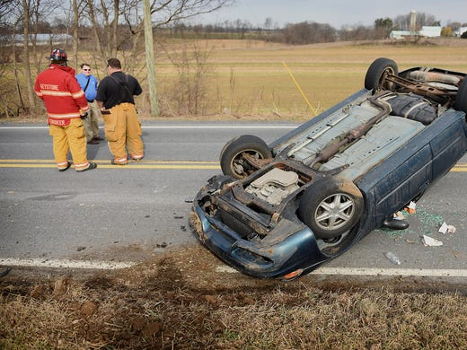 4-year-old climbs out of car after Jackson crash