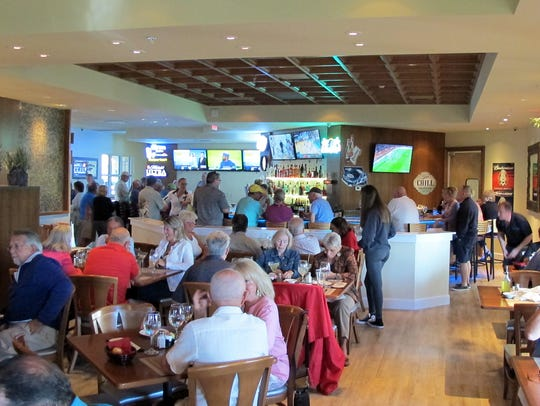 VillageWalk Bar & Grill opened March 15 in the community