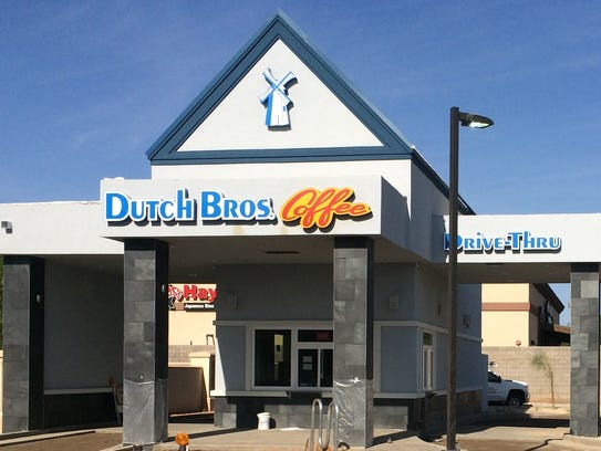 Glendale will get its first Dutch Bros. Coffee with the opening planned at Westgate this year.
