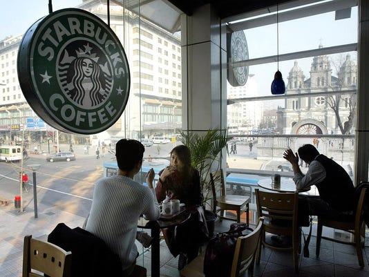 AFP CHINA-US-COFFEE
