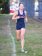 Franklin's Erin Seibert earned all-conference accolades.