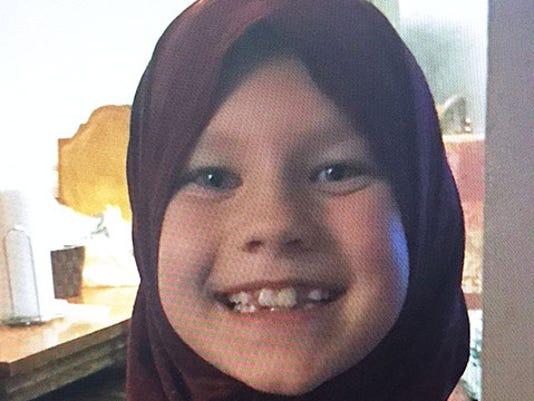 Girl in hajib