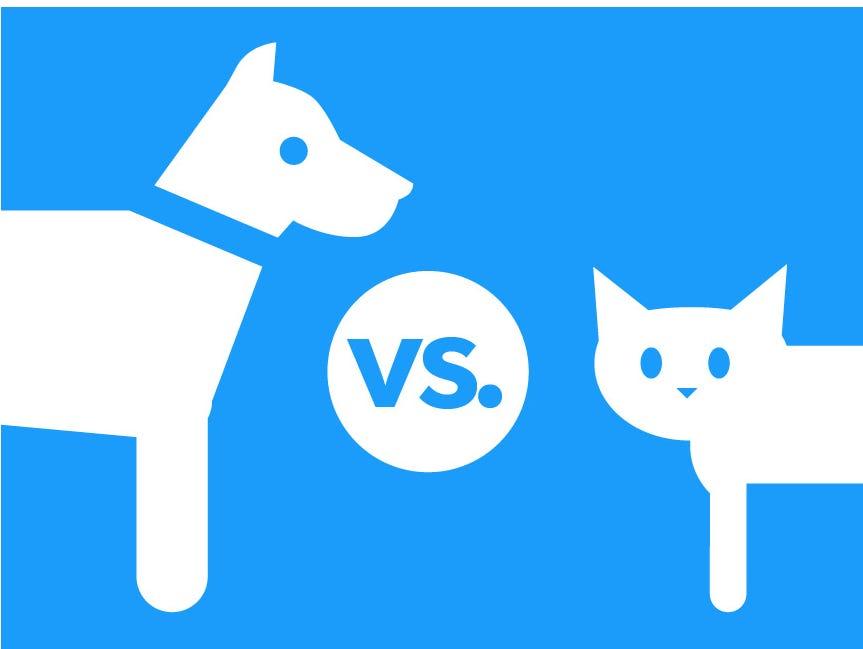 Dot-Dog vs Dot-Cat