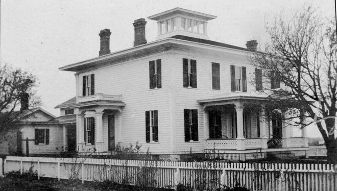 The Senators Mansion in Churchville before being remodeled.