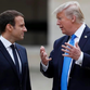 Trump, Macron look past differences on climate pact