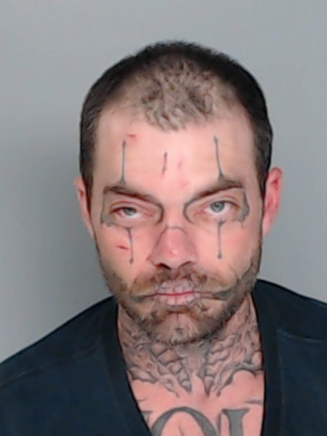 mugshots of texas inmates with face neck tattoos