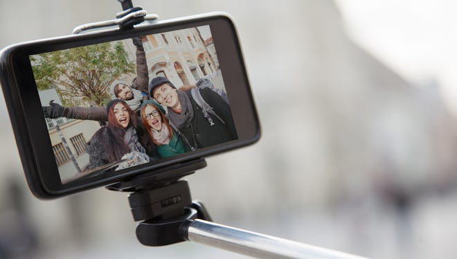 The selfie stick may be one of the greatest inventions ever — if you're into that sort of thing.