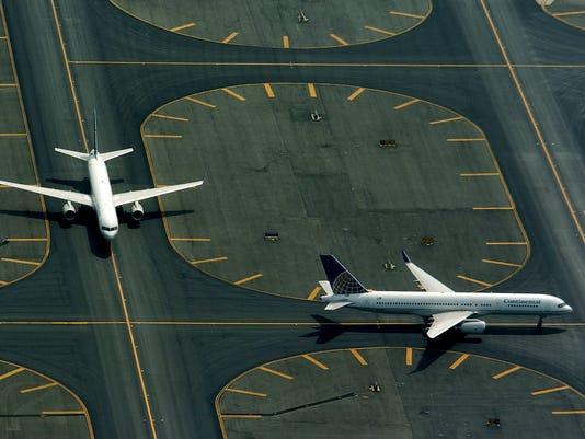 Newark Airport Aerials