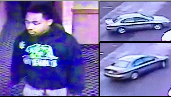 Police are looking for this man in connection with an assault in Surprise on Jan. 14, 2017. They say he drove away in a silver four-door passenger vehicle.