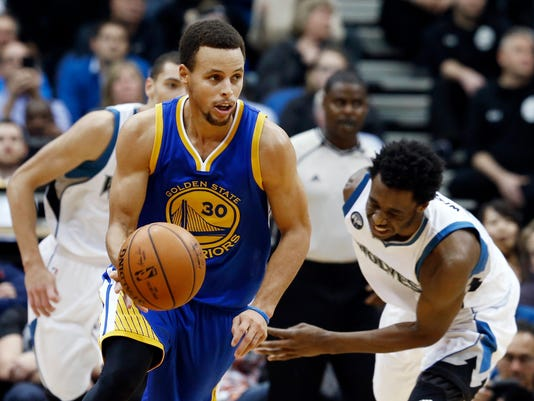 Stephen Curry, Andrew Wiggins