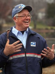 Tom McMahon will be retiring soon after 31 years delivering mail, 26 of them in Lake Intervale