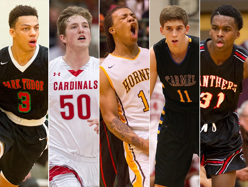 Which Indy-area players made this year's IndyStar Super Team?
