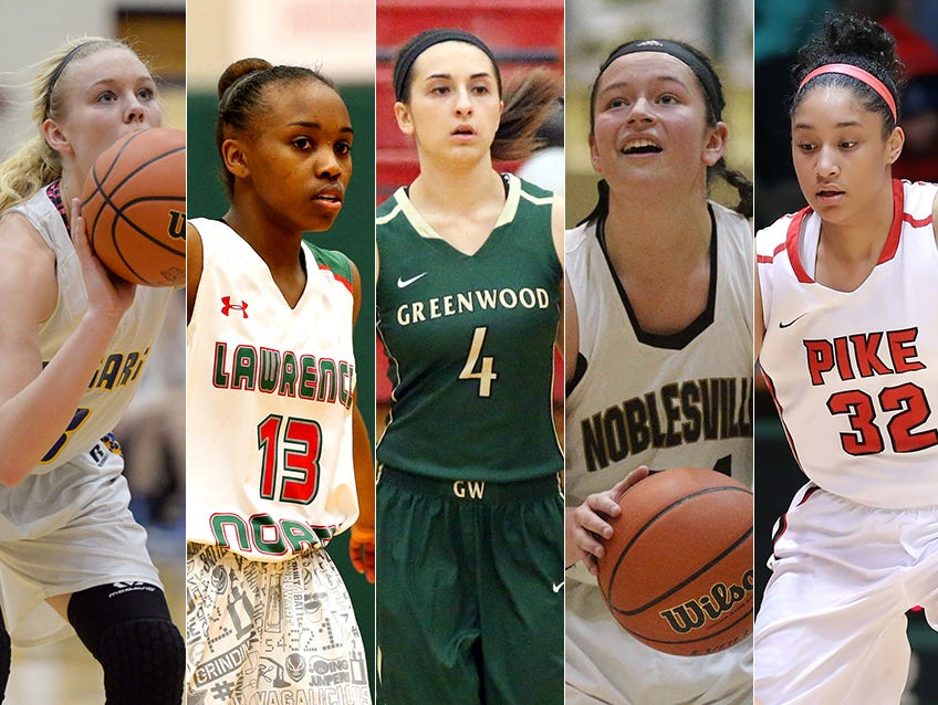 From left to right: Madison Wise, Lauren Dickerson, Holly Hoopingarner, Katelyn O'Reilly and Tyana Robinson.