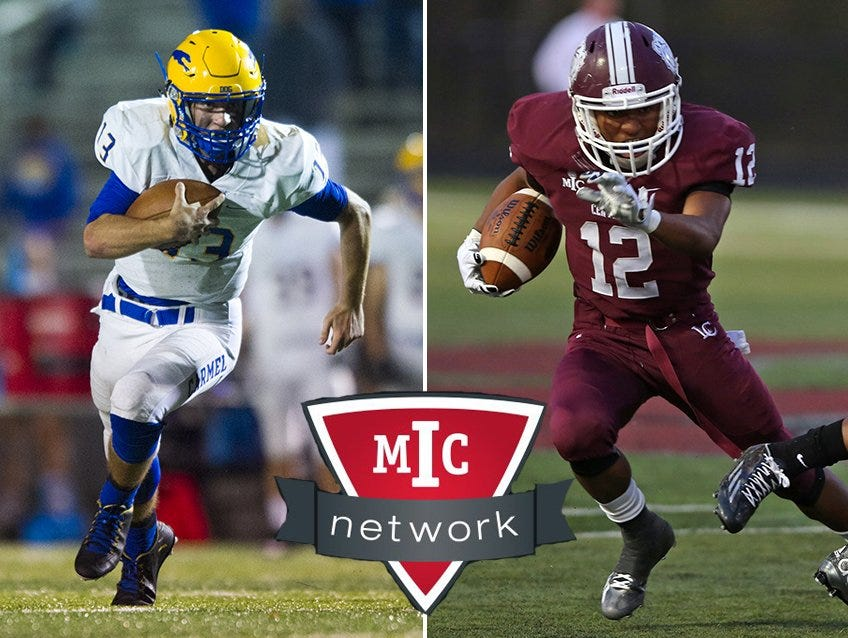 Class 6A No. 9 Carmel takes on No. 12 Lawrence Central in the MIC Network Game of the Week.