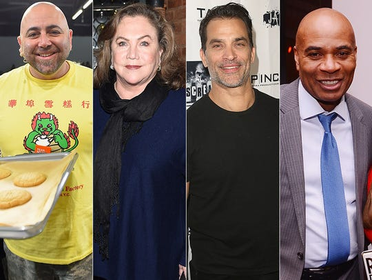 Duff Goldman, Kathleen Turner, Jonathan Schaech and