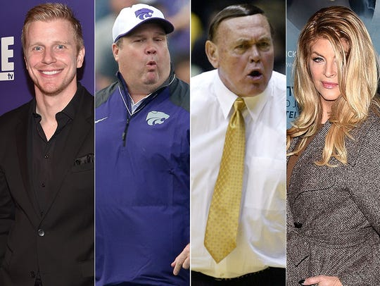 L to R: Sean Lowe, Eric Stonestreet, Gene Keady and