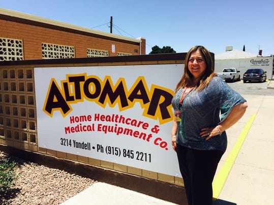 The new offices of Altomar Home Health are located at 3214 E. Yandell.