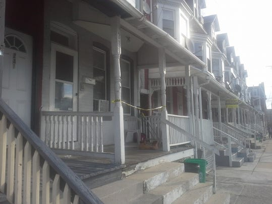 This photo shows the Richland Avenue house where police say a 12-year-old boy was accidentally shot Sunday morning.