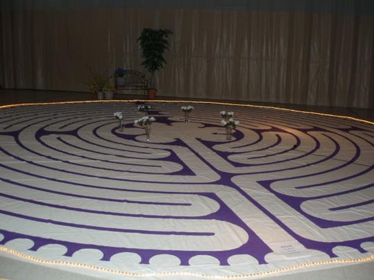 FUMC Radical Joy Lighted Labyrinth