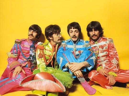 Beatles Sgt. Pepper photo AP