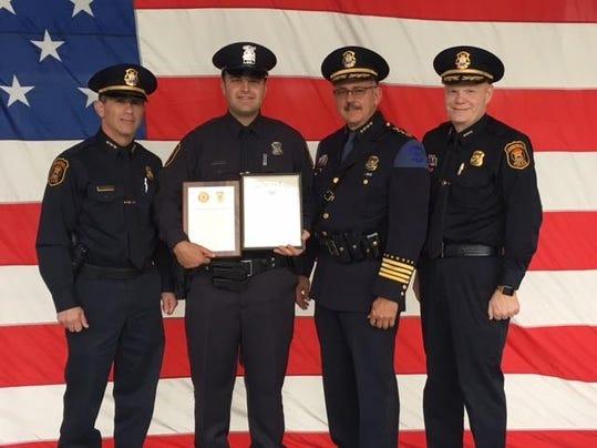 Officer Steve Syoen American Legion POY