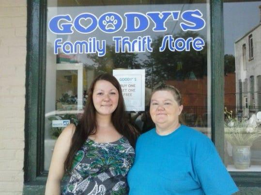 thrift store-Goody's