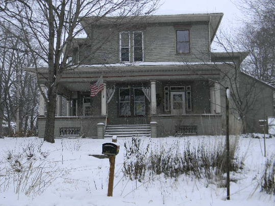 Judge James O'Neill's home in winter.JPG