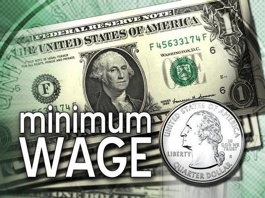 Minimum Wage Dollar - myfreedomfoundation