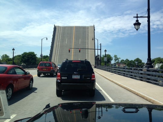 The O'Rourke drawbridge is up!