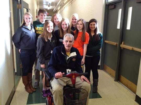 teacher wheelchair