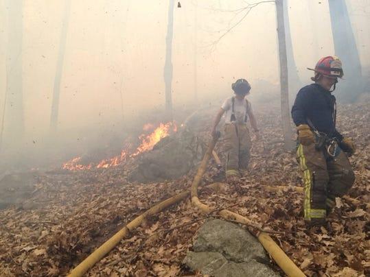 Southeast brush fire