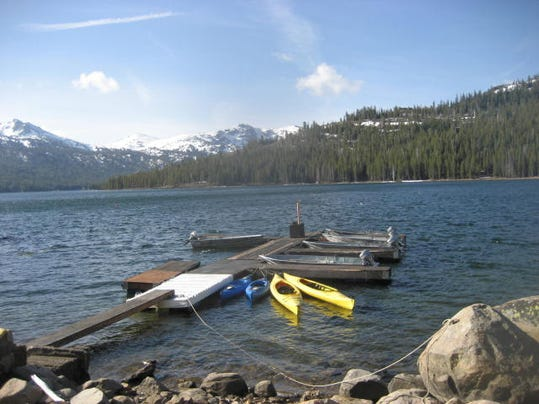 Fishing report for may 14 for Caples lake fishing report