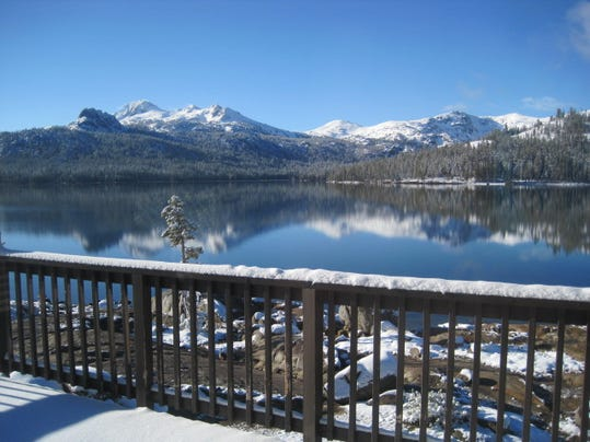 Fishing report for may21 for Caples lake fishing report