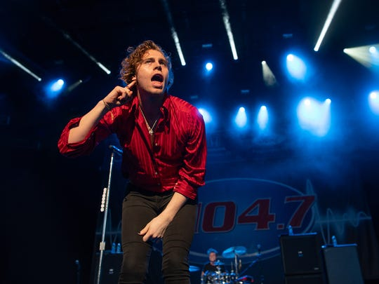5 Seconds of Summer performs at KFEST at Bethel Woods Center for the Arts on June 16.