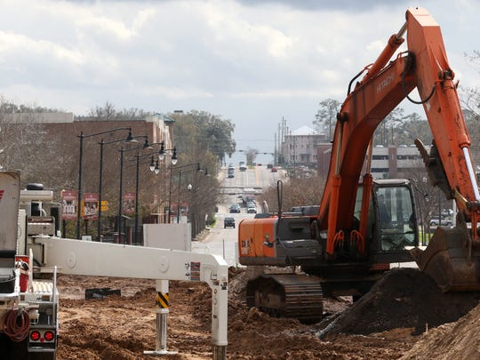 A five-story affordable housing complex is under construction at Frenchtown Tuesday, Feb. 7, 2016. The Casanas Village, located near the intersection of Macomb and Brevard streets sits on 2.73 acres.