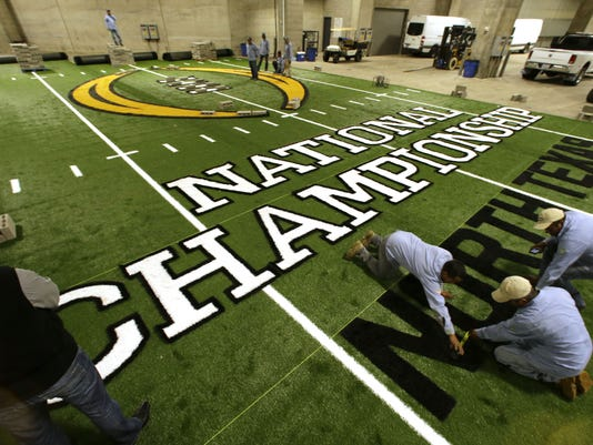 College National Championship Field Football