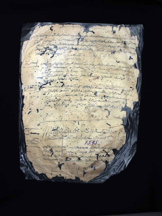 Earliest Known Black Baptism Record, 1595