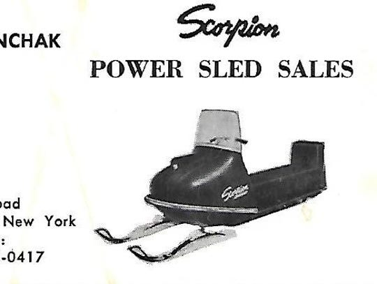 John Stanchak sold Scorpion snowmobiles.