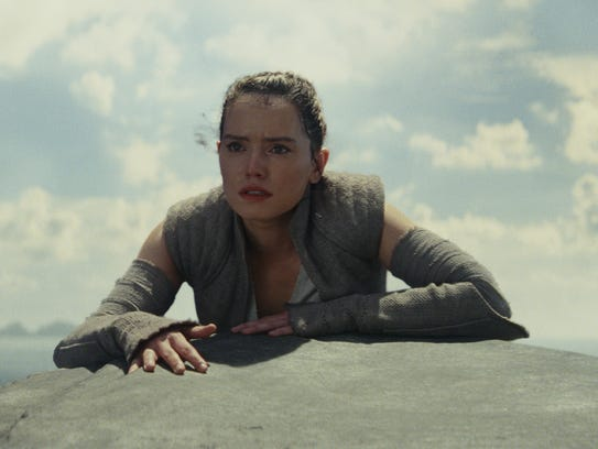 Rey (Daisy Ridley) has challenges ahead in 'Star Wars: