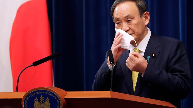 Japanese Prime Minister Yoshihide Suga will meet with President Joe Biden at the White House on Friday.