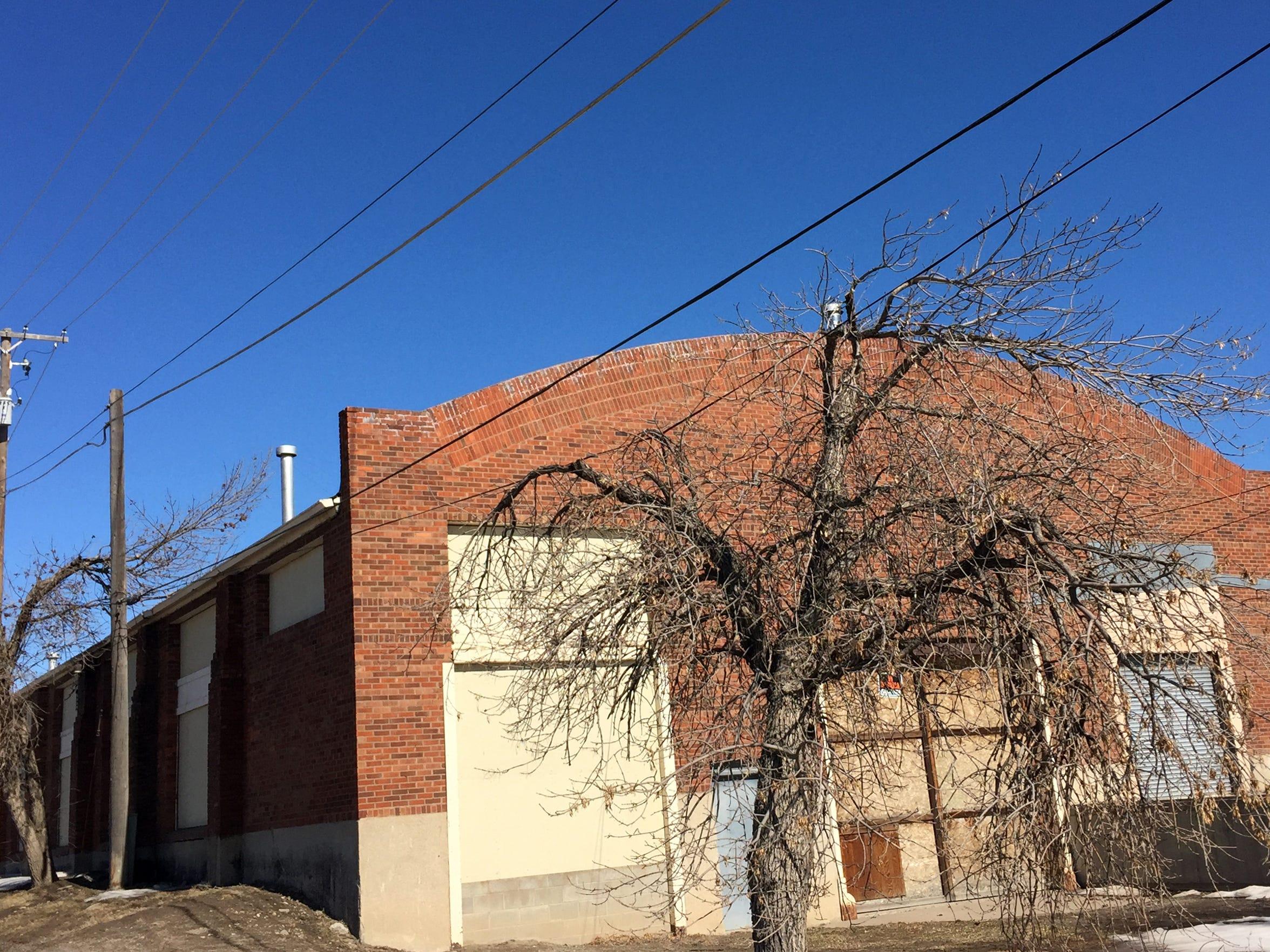 A historic barrel-roof building along Central Avenue