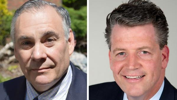 Bob Castelli, left, and Terrence Murphy face each other in Republican primary to replace Greg Ball.