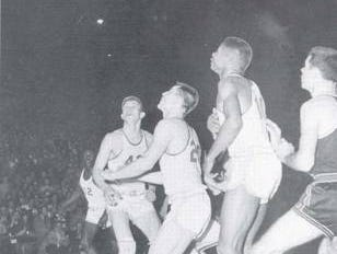 This is the only photo Bobby Plump ever had of his game-winning shot. He's not even in it.