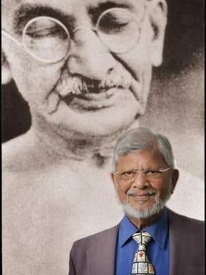 Arun Gandhi, a former journalist and lifelong proponent of peace and nonviolence, brings his message to Georgian Court on Tuesday, April 9.