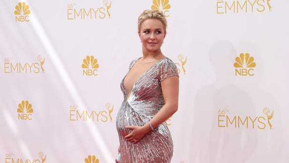 Hayden Panettiere at the Emmys in 2014.