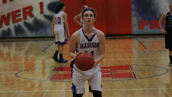 Madison senior Brooke Vilcinskas.