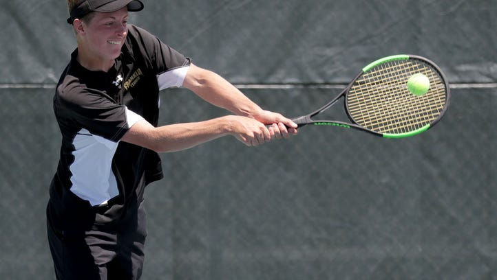 Here's the full list of local state qualifiers for the individual tennis meet