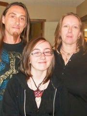 From left, Shone Swearingin, Mariah Wescott and Patricia