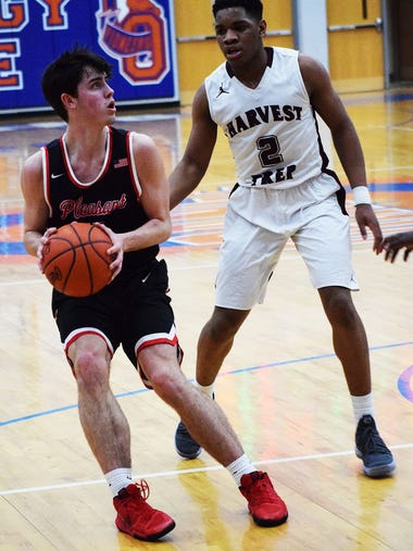 Pleasant fell 71-49 to Harvest Prep on Tuesday in a